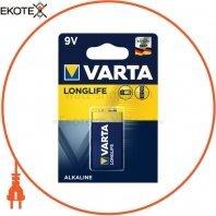 Батарейка VARTA LONGLIFE 6LR61 BLI 1 шт