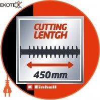 Einhell 3403460 кусторез электрический gh-eh 4245