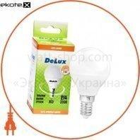 лампа светодиодная DELUX BL50P 5 Вт 2700K 220В E14 теплый белый