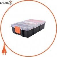 Органайзер пластиковый e.toolbox.16, 220х155х60мм