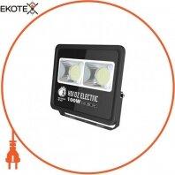 Прожектор SMD LED 100W 6400K 8500Lm 85-265V IP65 черный