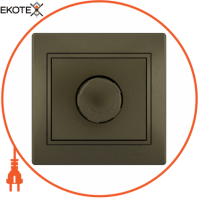 Диммер 800 Вт 701-3131-115 Цвет Светло-коричневый металлик 10АХ 250V~
