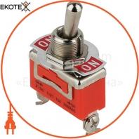 Тумблер ENERGIO 1121 ON-ON 3 контакта
