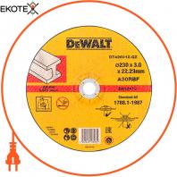 Круг отрезной по металлу DeWALT DT42601Z