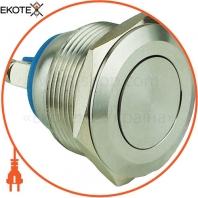 Кнопка металлическая ENERGIO TY22B-P10F плоская под болт без фиксации NO
