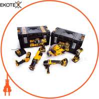 Набір з шести інструментів безщіткових DeWALT DCK623P3
