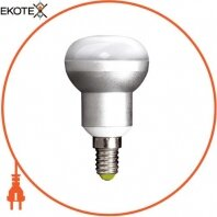 Лампа светодиодная  e.save.LED.R50B.E14.6.2700, під патрон E14, 6Вт, 2700К (ал)