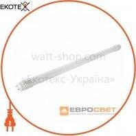 Лампа светодиодная трубчатая ЕВРОСВЕТ 9Вт 6400K L-600- EMC (c ЗАЩИТОЙ) T8 G13