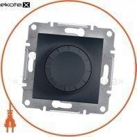 Asfora Светорегулятор поворотный/600RL/двунаправленный (MTN5133-0000), без рамки, антрацит
