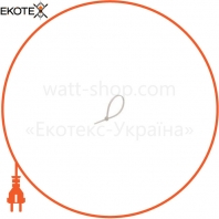 Стяжка кабельная 4 * 200 белая (бишь / 100 шт)