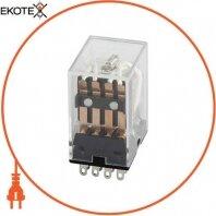 Реле проміжне e.control.p342, 3А, 12В AC, на 4 групи контактів