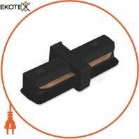 Коннектор прямой LD1004 черный