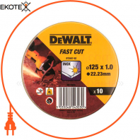 Набор кругов отрезных DeWALT DT3507