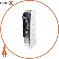 Выключатель-разъединитель под предохранитель вертикального исполнения e.fuse.fsvd.160, габарит 00, 3 полюса, 160А