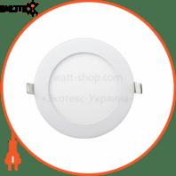 Встраемая Круглая LED Панель 464-RRP-09 Цвет 6400K 9W - O145mm / O132mm - 710lmВбудована Кругла LED Панель 464-RRP-09 Колір 6400K 9W - O145mm / O132mm - 710lm
