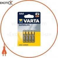 Батарейка VARTA SUPERLIFE AAA BLI 4 шт