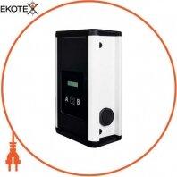 Станция для зарядки электромобилей WallBox eVolve Smart ТМ4 2 x 3.7 кВт 230В 16A Schuko + 22кВт 400В 32А Type2 розетка с фикс. одночасье. заряд 1&1