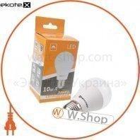 Лампа светодиодная ЕВРОСВЕТ 10Вт 4200К A-10-4200-27 Е27