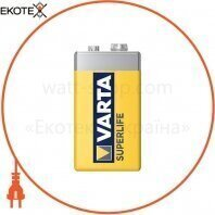 Батарейка VARTA SUPERLIFE 6F22 FOL 1 шт