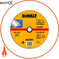 Круг отрезной DeWALT DT42641