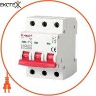 Модульный автоматический выключатель e.mcb.pro.60.3.B 25 new, 3р, 25А, В, 6кА, new