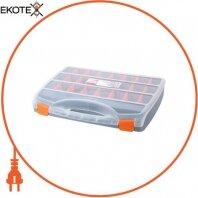 Органайзер-кейс пластиковый, e.toolbox.06, 460х360х80мм