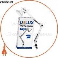 Светильник настольный DELUX TF-06_E27 белый