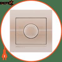 Диммер 500 Вт с фильтром и предохранителем 702-3030-117 Цвет Жемчужно-белый металлик 10АХ 250V~