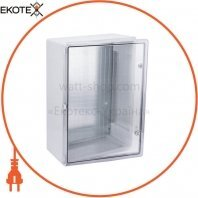 Корпус пластиковый ЩМПп 700х500х250мм прозрачная дверь УХЛ1 IP65 IEK
