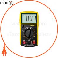 Мультиметр цифровой универсальный категории САТ III STANLEY STHT0-77364