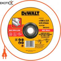 Круг отрезной DeWALT DT43912