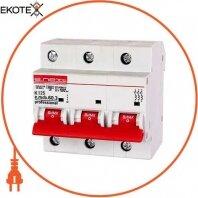 Модульный автоматический выключатель e.mcb.pro.60.3.K 125 new, 3р, 125А, K, 6кА new