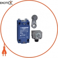 limit switch XCKJ - thermoplastic roller lever - 1NC+1NO - snap action - 1/2NPT