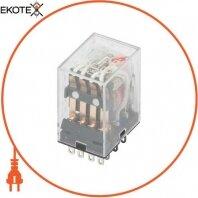 Реле промежуточное e.control.p346L с Led индикацией 3А, 4 группы контактов, катушка 230В АС