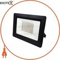 Прожектор SMD LED 100W 6400K 8000Lm 175-250V IP65 чорний