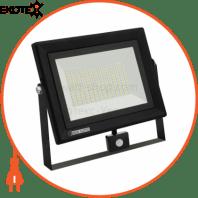Прожектор с датч. движения SMD LED 100W 6400K ИР65 8000Lm