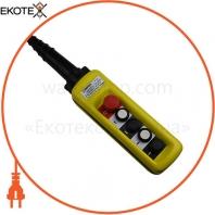 Пост тельферний ENERGIO XAC-A4713 4 кнопки / СТОП IP65