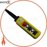 Пост тельферний ENERGIO XAC-A4913 4 кнопки / СТОП IP65