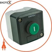 Пост кнопочный ENERGIO XAL-D102 ПУСК зеленый NO