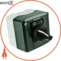 Пост кнопочный ENERGIO XAL-D134 с секторным переключателем 1-0 NO