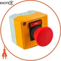 Пост кнопочный ENERGIO XAL-D164 СТОП грибок красный NC