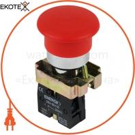 Кнопка ENERGIO XB2-BC42 грибок красная NC