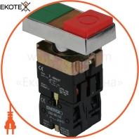 Кнопка ENERGIO XB2-BW8475 ПУСК/СТОП с индикатором зеленая/красная виступающая NO+NC