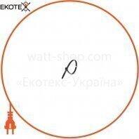 Стяжка кабельная 4 * 250 черная (100 шт)