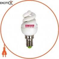 Лампа энергосберегающая e.save.screw.E14.5.4200.T2, тип screw, патрон Е14, 5W, 4200 К, колба Т2
