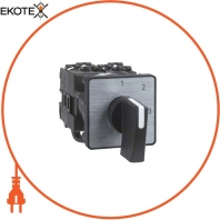 cam voltmeter switch - 3L-N - 45° - 12 A - screw mounting