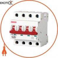 Модульный автоматический выключатель e.industrial.mcb.100.4. C10, 4 Р, 10а, C, 10кА