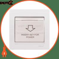 Энергосавер (карточного типа с логотипом) 702-0202-119 Цвет Белый/Белый Задержка