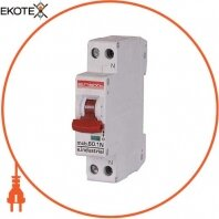 Enext i0170006 модульный автоматический выключатель e.industrial.mcb.60.1n.c32.thin, 1p+n, 32а, c,  6ка