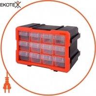 Органайзер наборной e.toolbox.21, 12-секционный